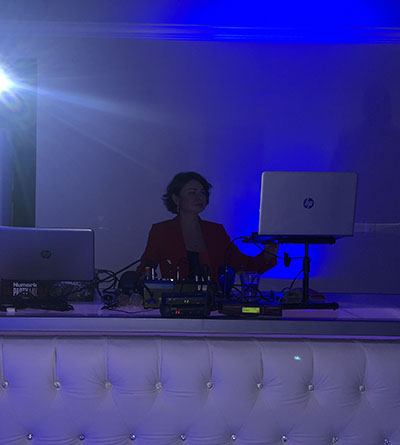 Wedding in Phoenix, Arizona, Russian DJ Elina, 01-12-2019, Wrigley Mansion