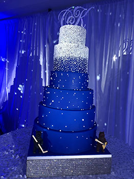 Russian wedding in Phoenix, Arizona, Wedding Cake, 01-12-2019, Wrigley Mansion