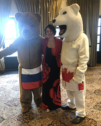 Wedding in Phoenix, Arizona, Russian Bears with DJ Elina, 01-12-2019, Wrigley Mansion