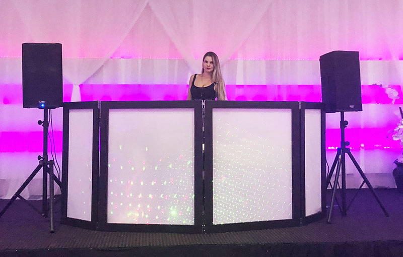 Russian DJ Alisa, Wedding, Hollywood, Florida, Temple Sinai of Hollywood, Eden Regal Ballroom & Catering, Sunday, September 2, 2018