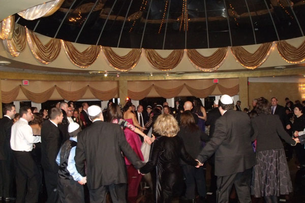 Jewish-American Wedding, January 30, Old Bridge, NJ