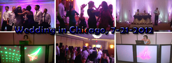 Russian-American wedding in Chicago, IL, July 2012