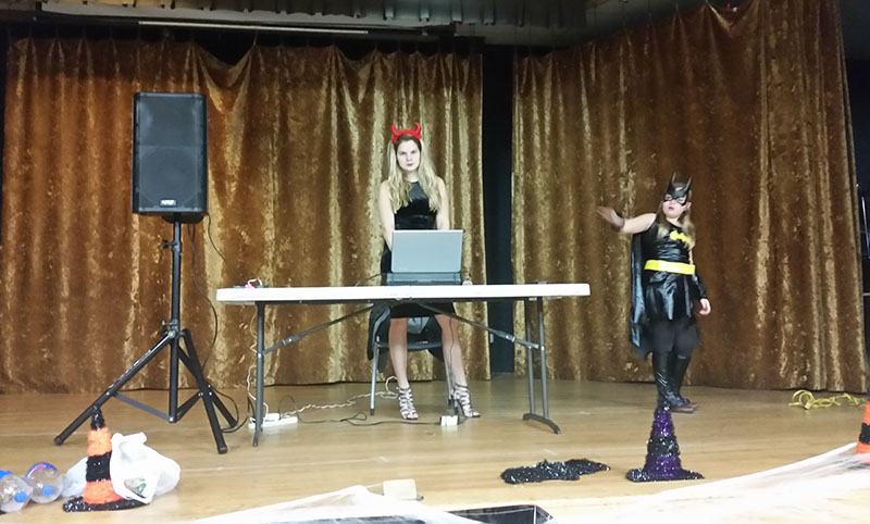 Диджей Алиса, Нью-Йорк, Halloween Party, 10-31-2015, Nostrand Kings Bay YM-YWHA, Brooklyn, NY