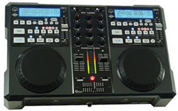 AMERICAN AUDIO CK-1000 PROFESSIONAL MP3, CD PLAYER, MIXER
