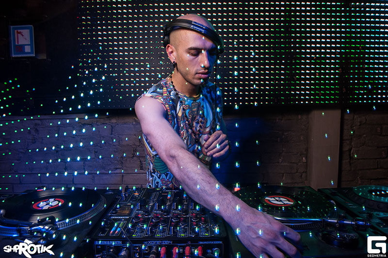Russian DJ Ivan from Los Angeles, California